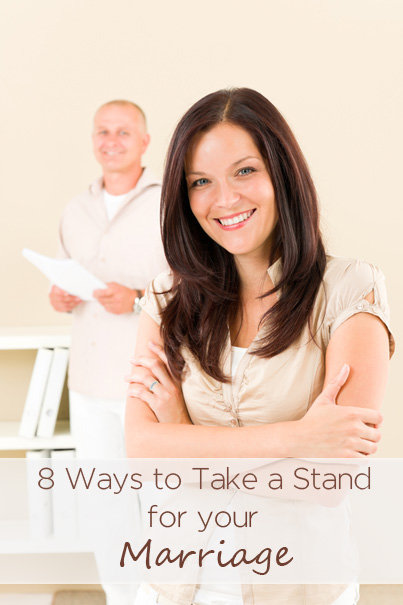 take a stand for your marriage