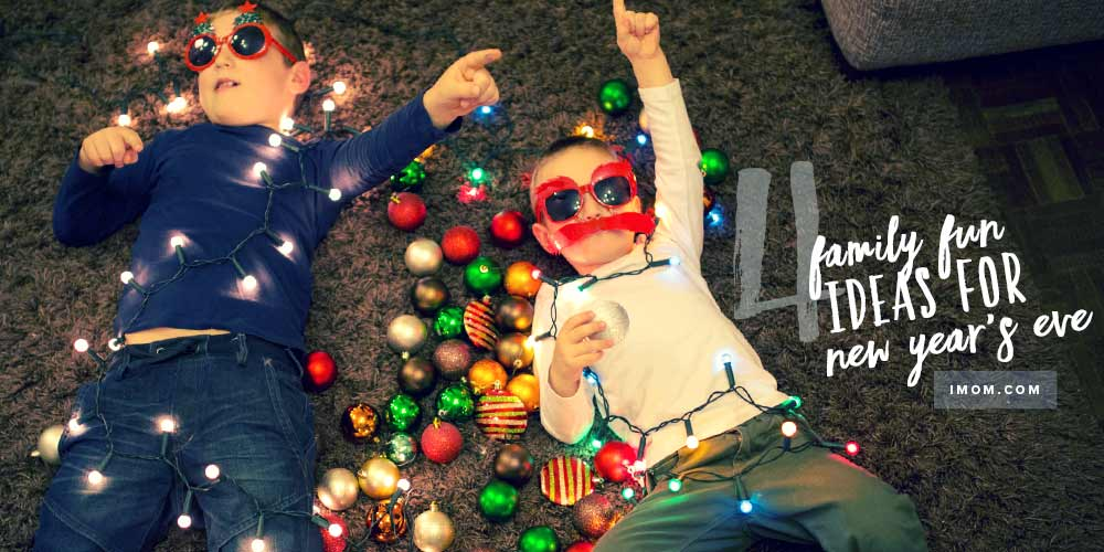4 Ideas for Family Fun on New Year's Eve - iMom