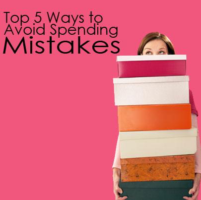 spending mistakes