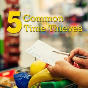 Common Time Thieves for Moms