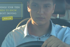 teaching your teenager to drive