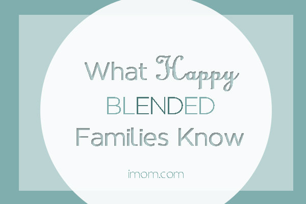 what happy blended families know