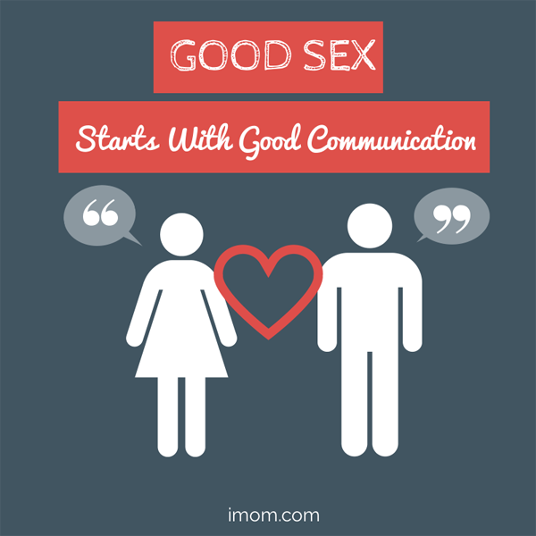 good sex starts with good communcation