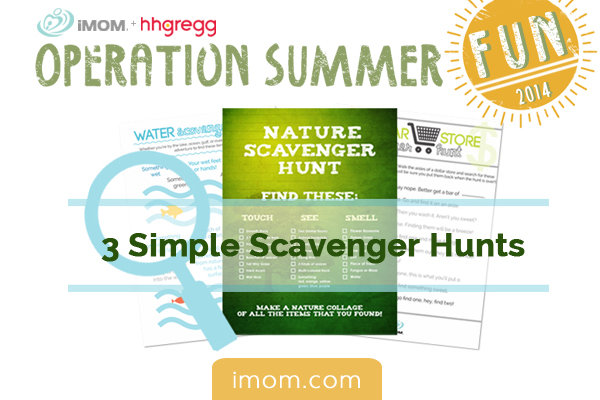 Operation Summer 3 Simple Scavenger Hunts