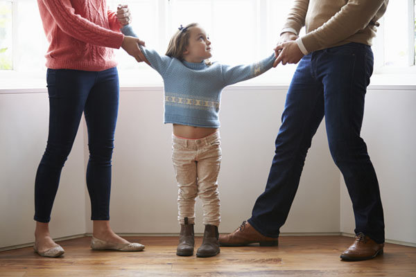 child with divorce parents
