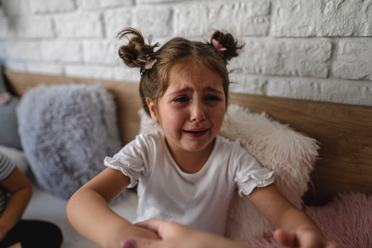 how to deal with a child who cries over everything