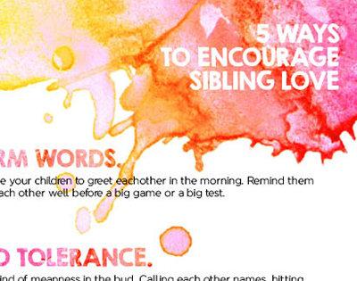 encourage sibling love thumb