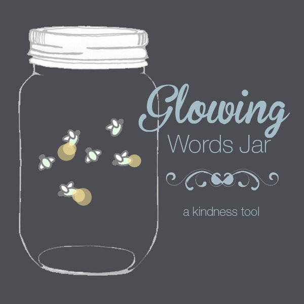 Glowing Word Jar