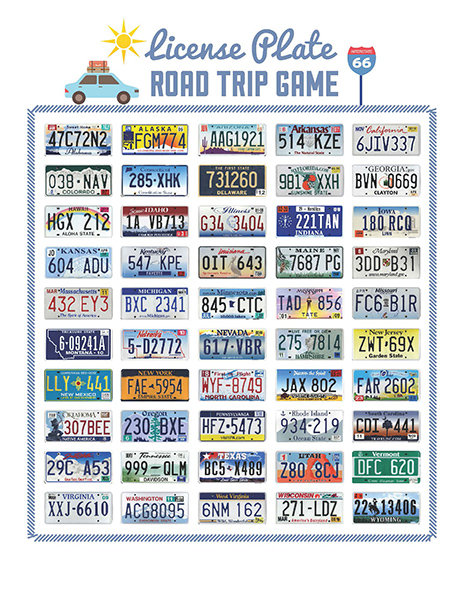 It's just a graphic of Ridiculous Printable Road Trip Games