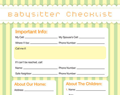 is your babysitter a good fit interview questions for hiring a