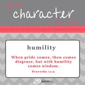 how to show humility at work
