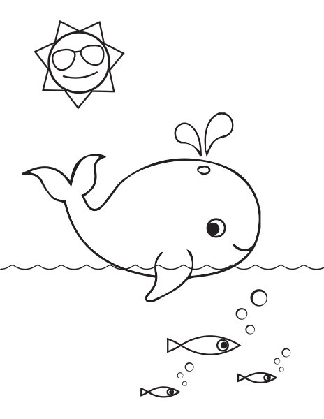Summer Coloring Pages - iMom