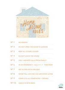 imom home alone rules