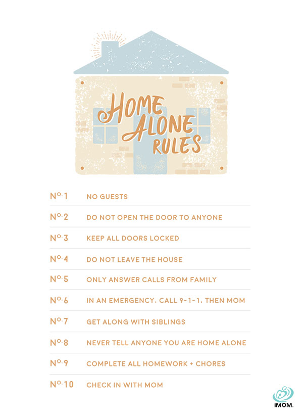 home alone rules
