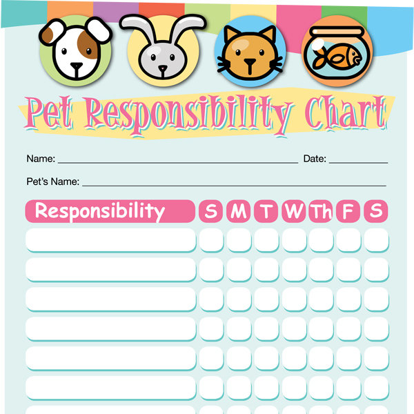 pet responsibility chart imom. Black Bedroom Furniture Sets. Home Design Ideas