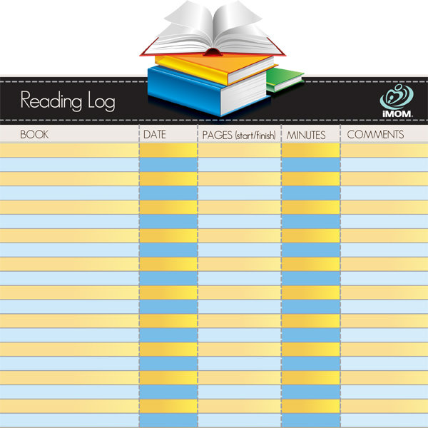 iMOM Reading Log