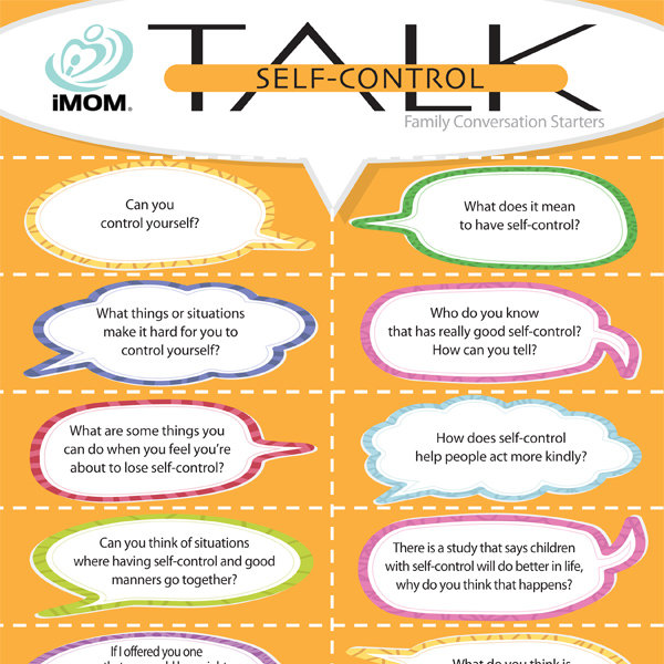 Self Control Talk Imom