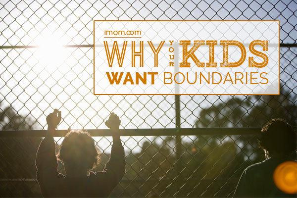 kids want boundaries