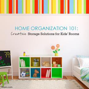 Home Organization 101: Creative Storage Solutions for Kids' Rooms