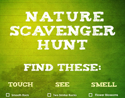 nature scavenger hunt thumb