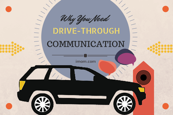 drive through communication