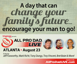 all pro dad live event
