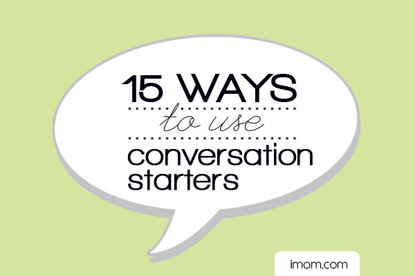 use conversation starters