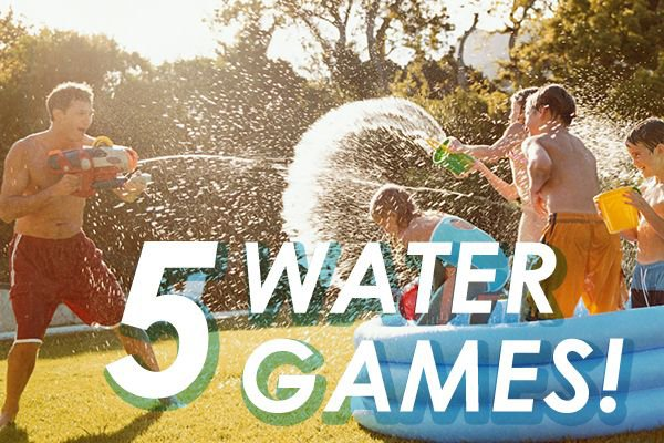 5 Water Games iMom
