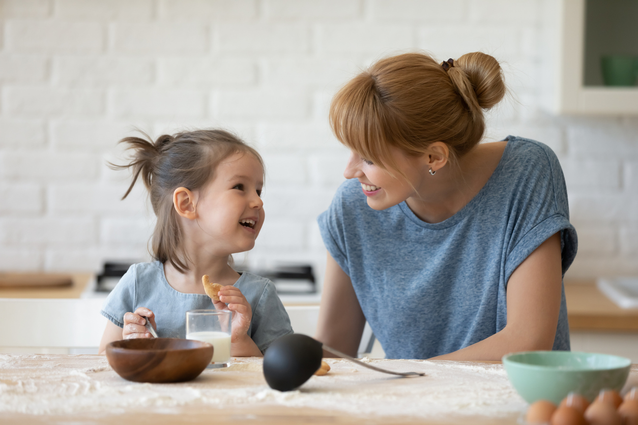 what to do with a talkative child