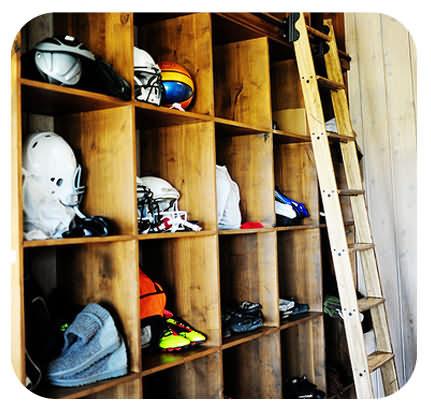 sports storage