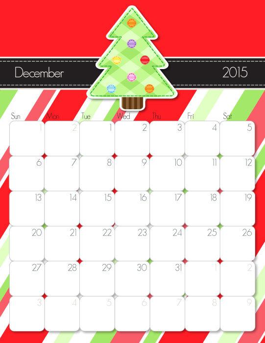 Family Calendar 2015 Printable : Printable calendar free handmade