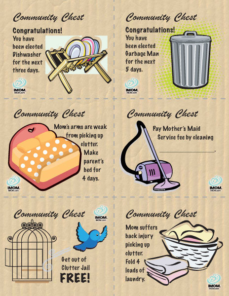 clutter jail  printable