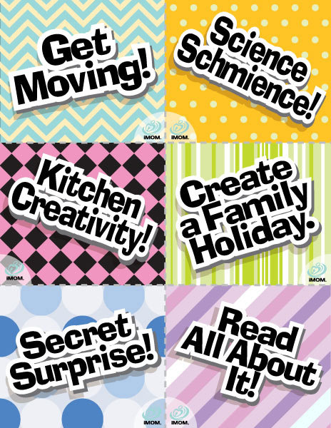 More Family Fun Time Cards Imom