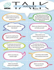 marriage talk