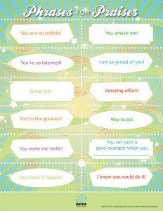 Phrases for Praises