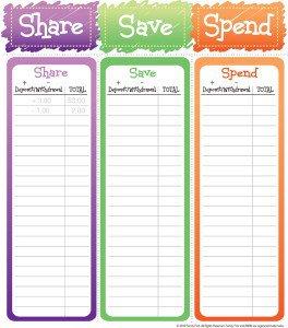 Share, Save, Spend