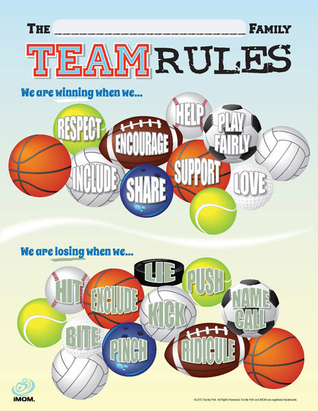 Team Rules Imom