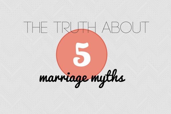 marriage myths
