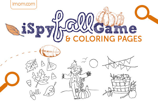 iSpy Fall Game and Fall Coloring Pages - iMom