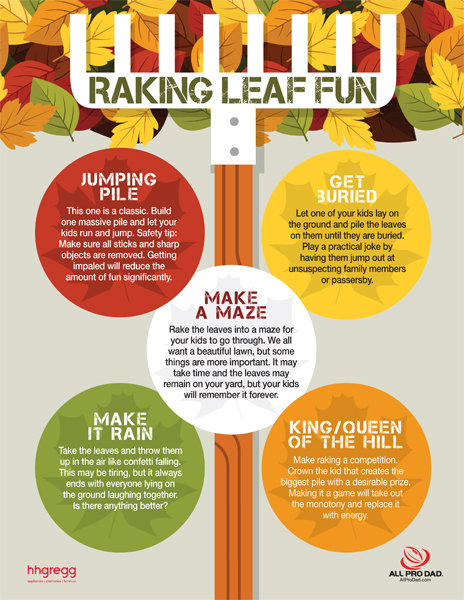 Safety Tip Of The Day >> Raking Leaf Game - iMom