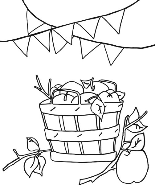 Apples And Pumpkins Coloring Pages : Free coloring pages of dot to leaves