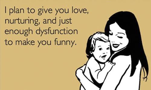 dysfunction to make you funny