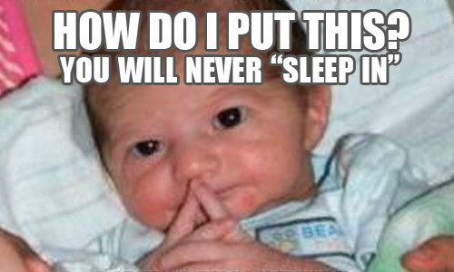 you will never sleep in