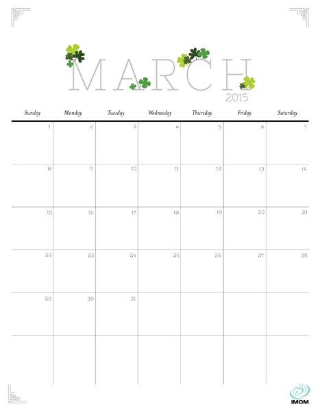 cute january 2018 calendar printable