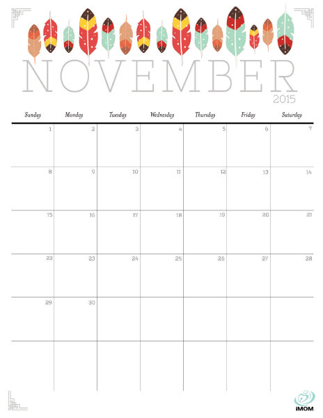 Kids Printable Calendar | Calendar Template 2016