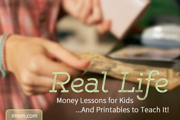 A Real Life Money Lesson For Kids And Printables To