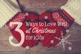 ways to love