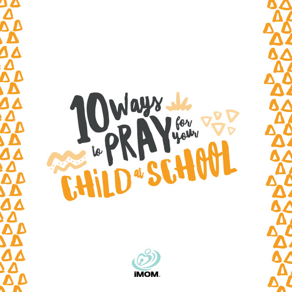 pray for child at school