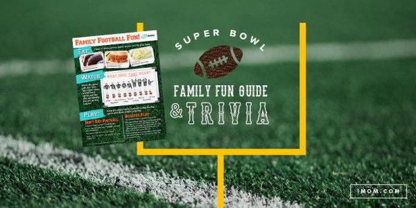photo about Super Bowl Trivia Questions and Answers Printable referred to as Tremendous Bowl Relatives Enjoyment Consultant and Tremendous Bowl Trivia - iMom