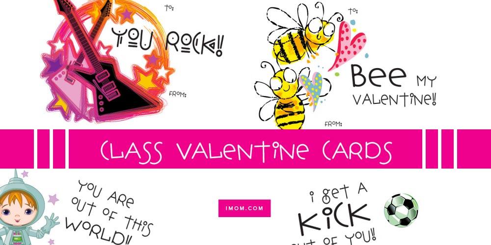 Class Valentine Cards iMom – Class Valentine Cards